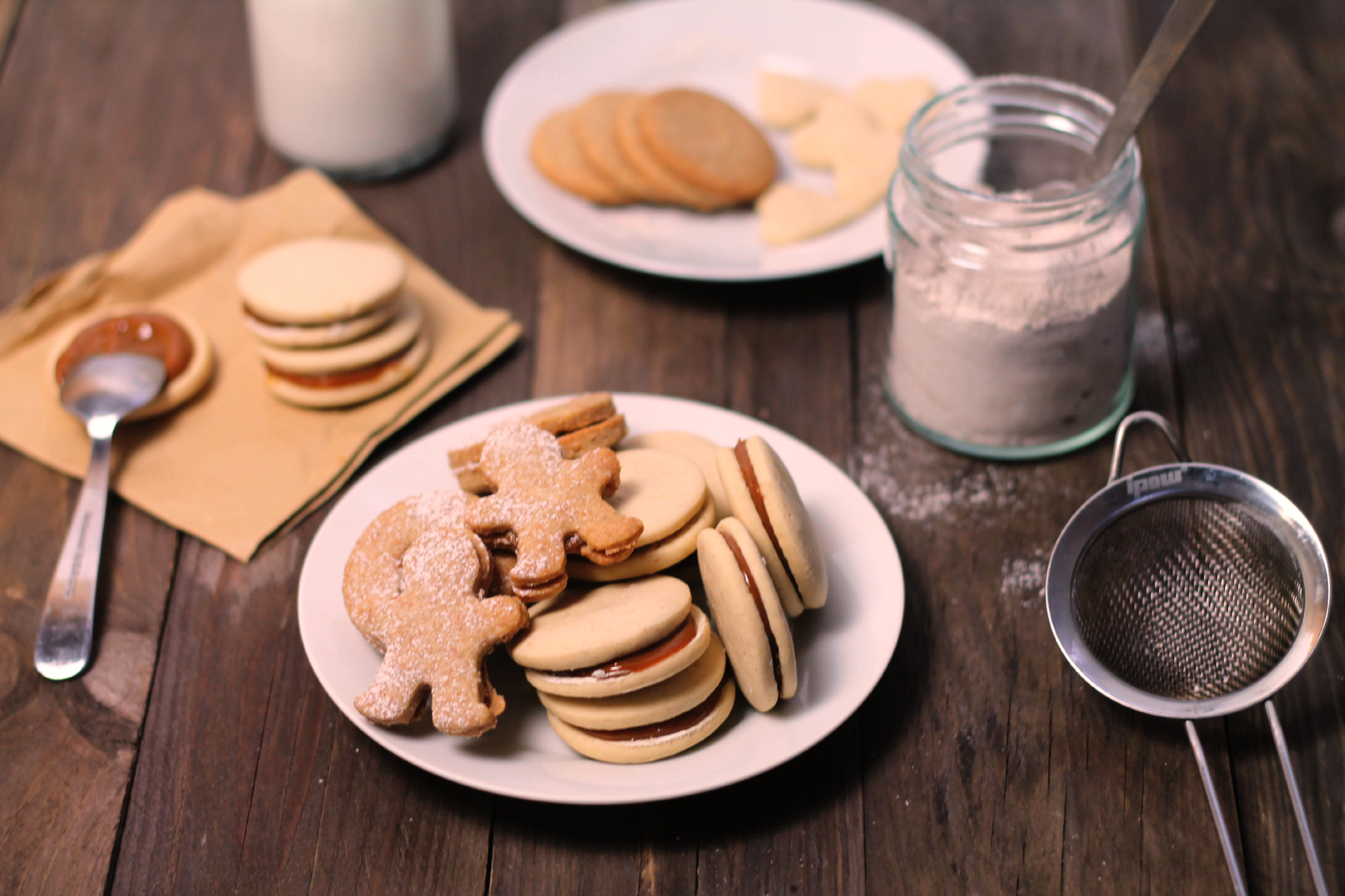 Vánoční cukroví s Dulce de leche
