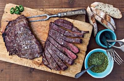 Grilovaný flank steak dle časopisu FOOD