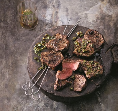 Argentinský steak z nízkého roštěnce s chimichurri dle časopisu APETIT