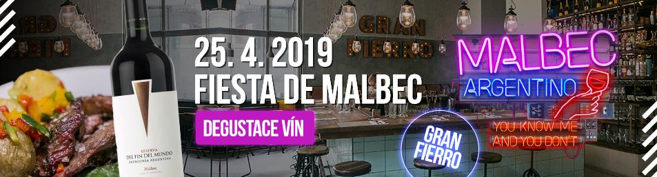 Světový den Malbecu degustace vín Malbec