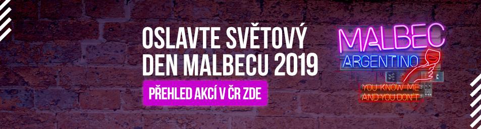 Světový den Malbecu - Malbec day 2018 přehled akcí