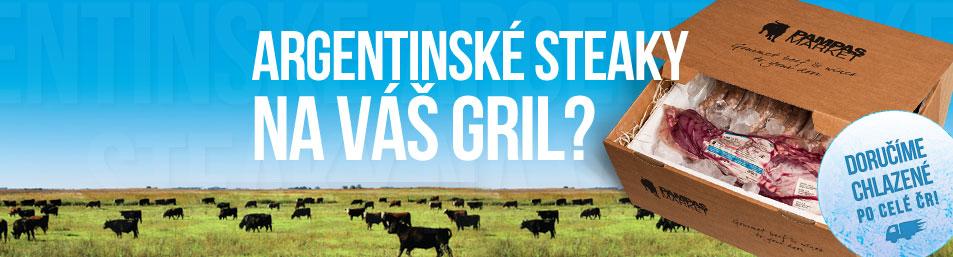 Argentinské steaky na váš gril