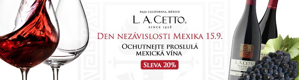 Mexická vína L.A.Cetto