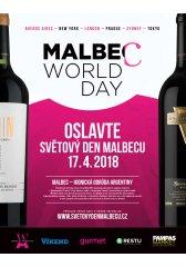 """DEGUSTAČNÍ VEČEŘE """"SVĚTOVÝ DEN MALBECU 2018"""