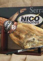 Dárkové balení šunky Jamón Ibérico, 7kg
