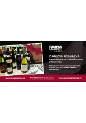 Dárková poukázka na předplatné vín CLUB DEL VINO - 3 zásilky