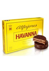 Alfajores HAVANNA v tmavé čokoládě 6 ks