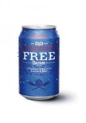 Španělské pivo DAMM bez alkoholu 330ml
