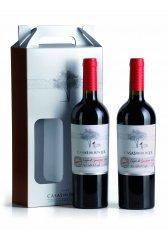 Dárkové balení vín Casas del Bosque - 2 láhve