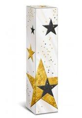 Dárkový box Christmas stars - na 1 láhev vína