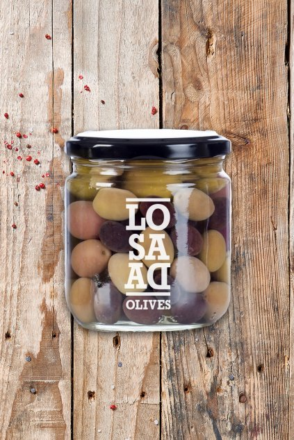 Carmona natural mix olives