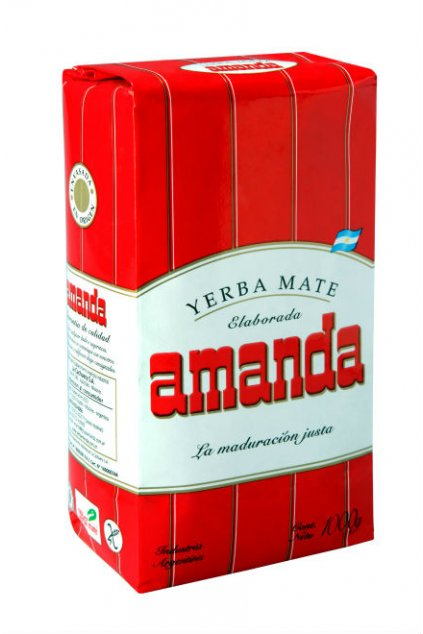 Yerba Mate Amanda red