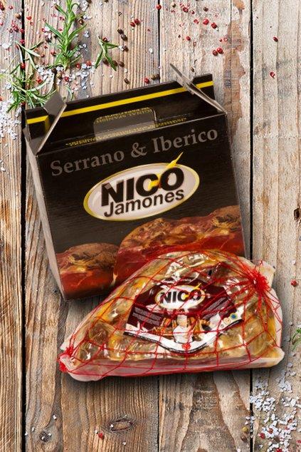 Dárkové balení šunky Jamón Serrano