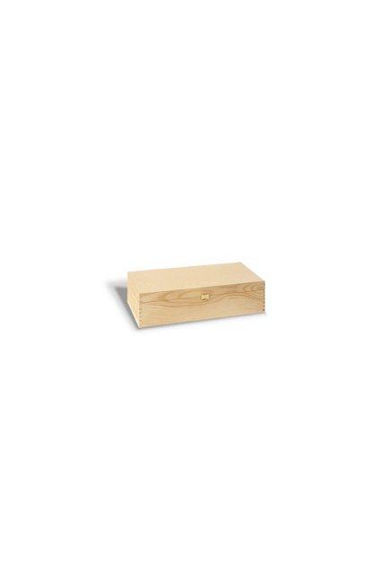 Dárkový box dřevěný - na 2 láhve vína