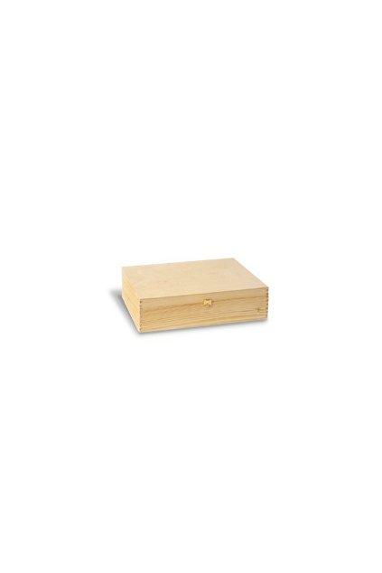 Dárkový box dřevěný - na 3 láhve vína