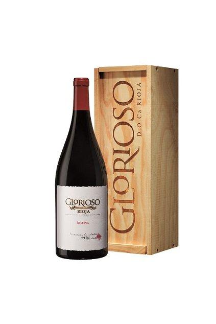 Dárkové balení vína Glorioso Crianza Magnum – 1,5 l