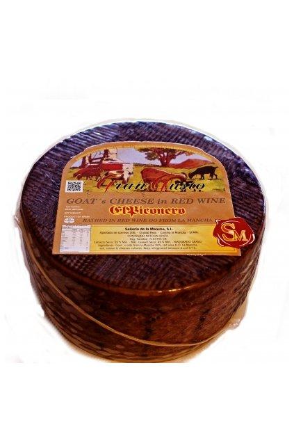 Kozí sýr na červeném víně 1kg