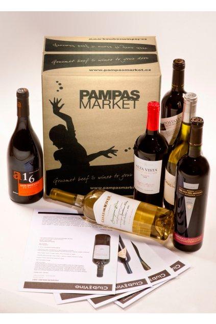 """Předplatné vín """"Club del Vino"""" - zkušební zásilka"""
