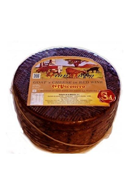 Kozí sýr na červeném víně 3 kg