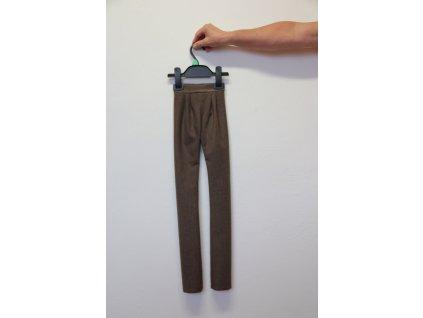 Kalhoty hnědé