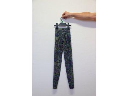 Kalhoty květované
