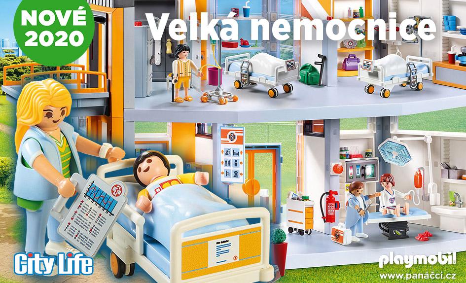 PLAYMOBIL Velká nemocnice