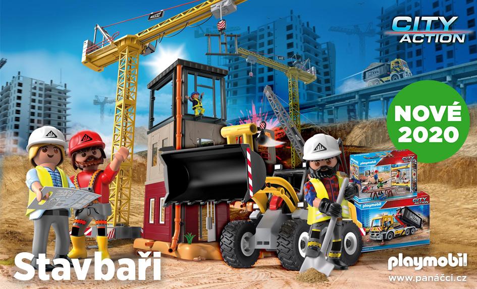 Stavbaři PLAYMOBIL