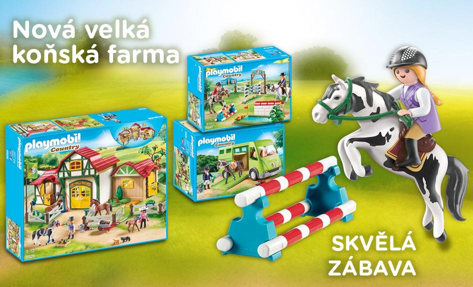 PLAYMOBIL Koňská farma
