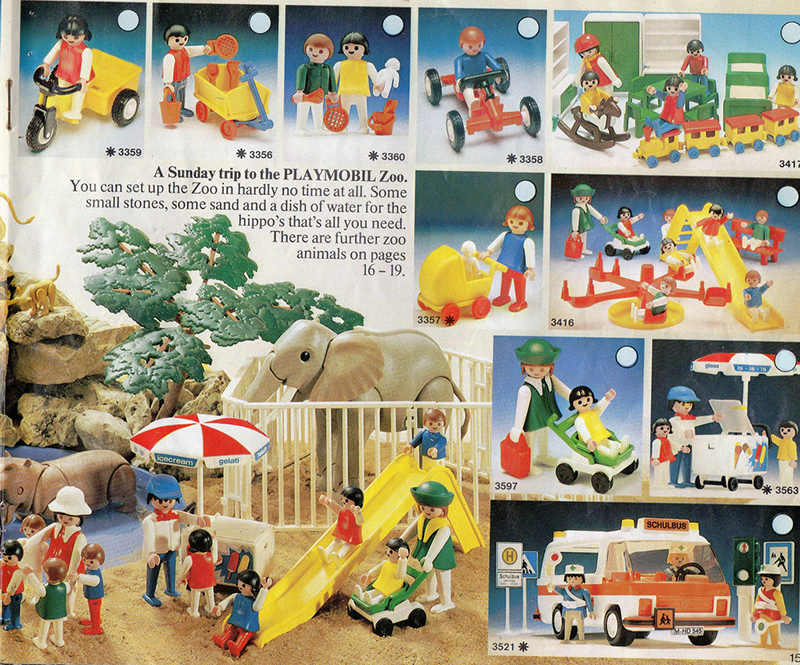 PLAYMOBIL retro katalog