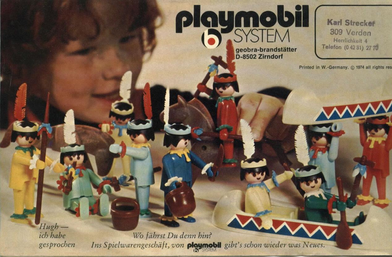 PLAYMOBIL Katalog 1974