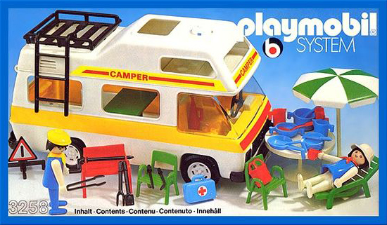 PLAYMOBIL retro karavan