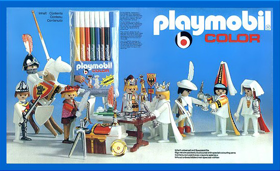 PLAYMOBIL retro color