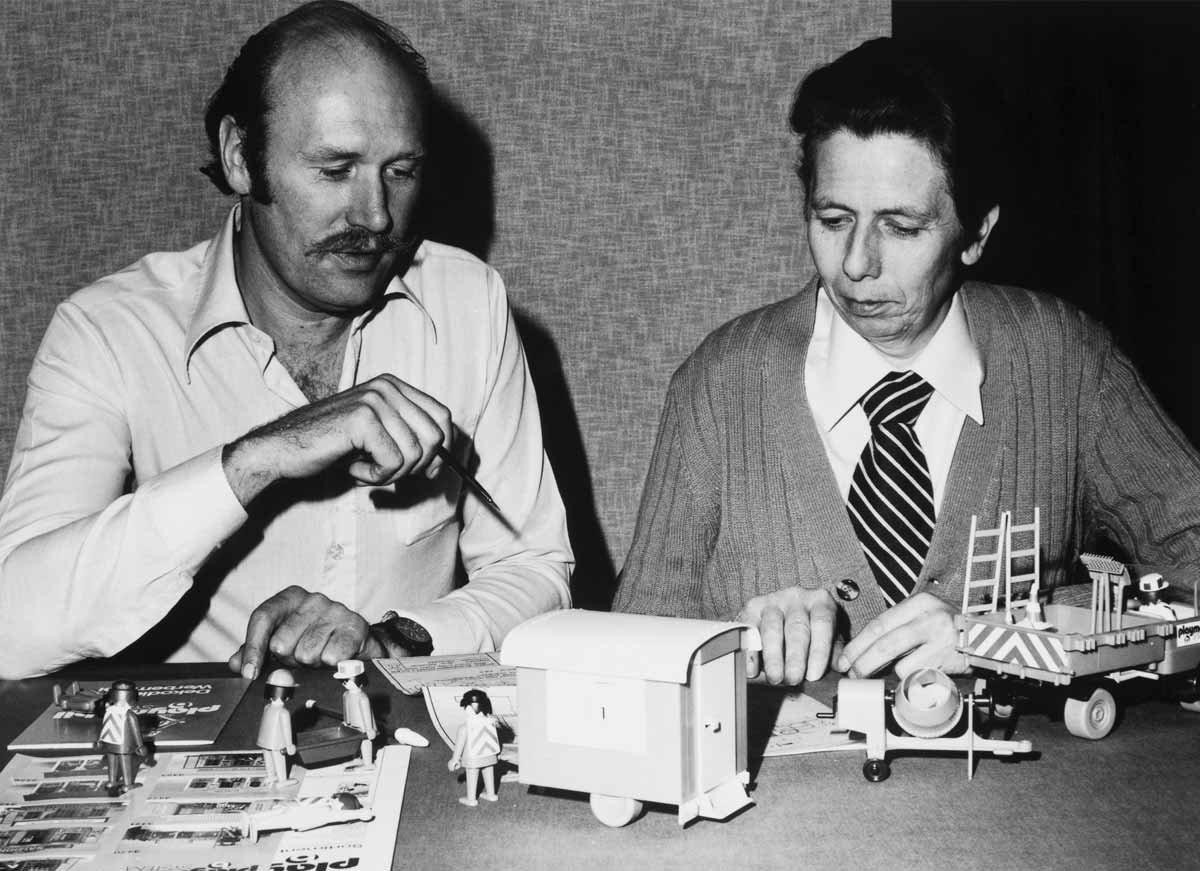 PLAYMOBIL Horst Brandstätter a Hans Beck