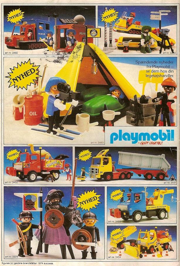 PLAYMOBIL katalog 1987