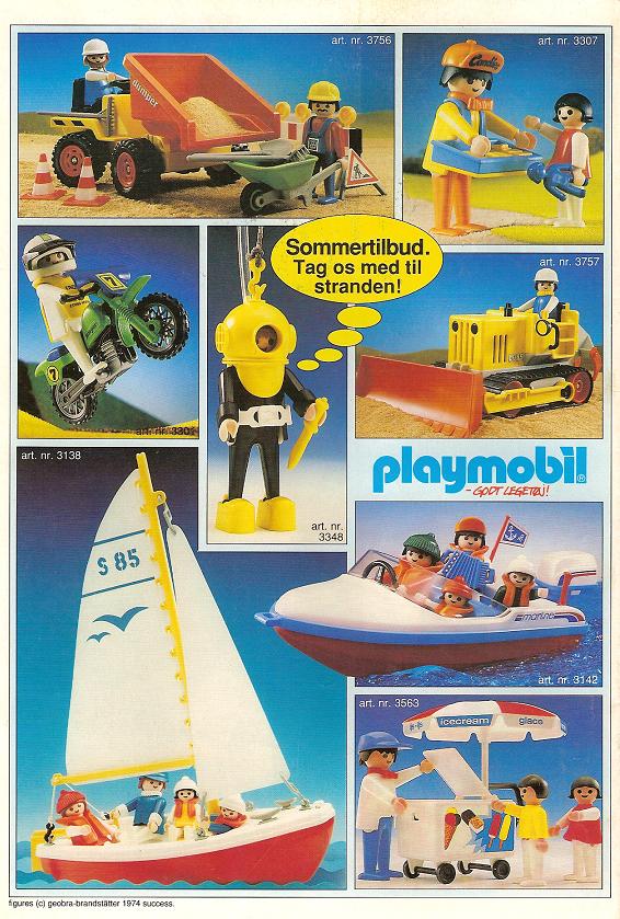 PLAYMOBIL katalog 1989