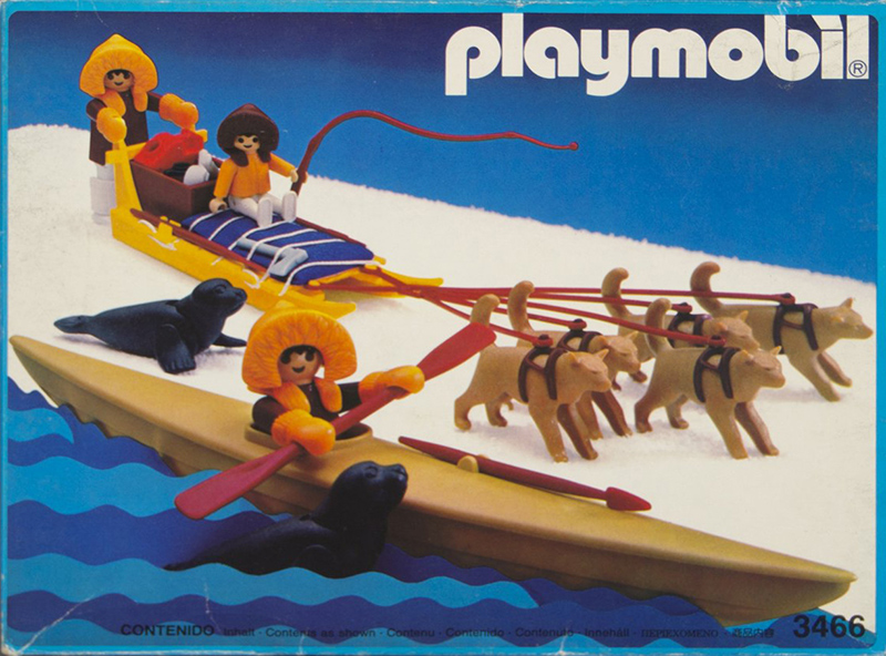 PLAYMOBIL retro Eskymáci