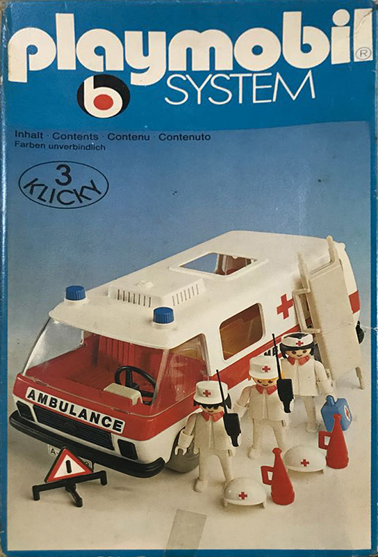 PLAYMOBIL retro sanitka