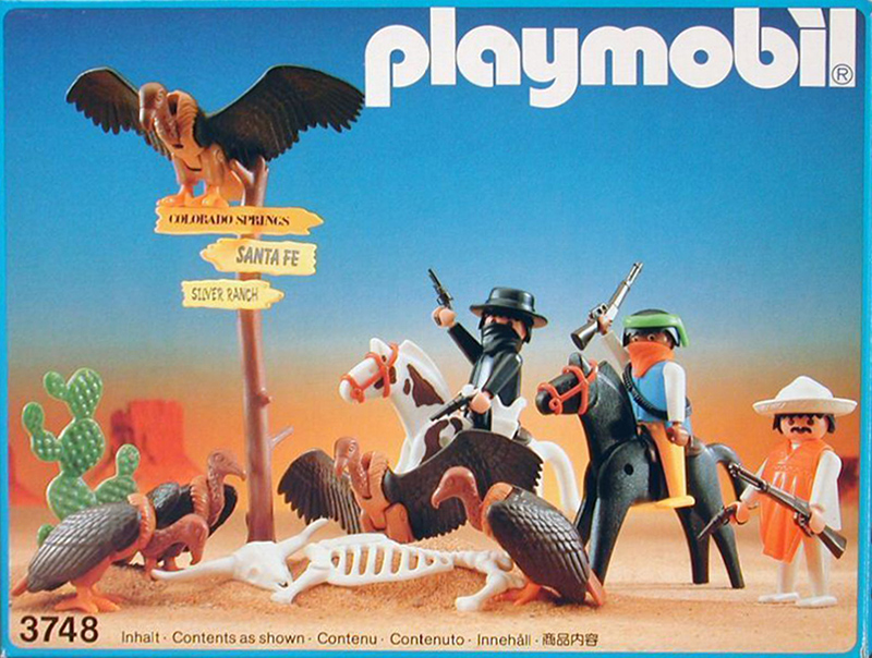 PLAYMOBIL retro western