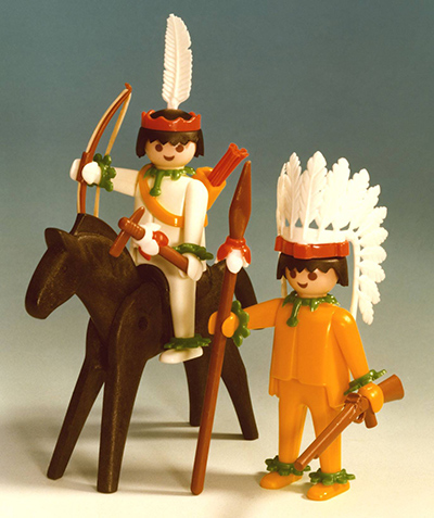 PLAYMOBIL retro Indiáni