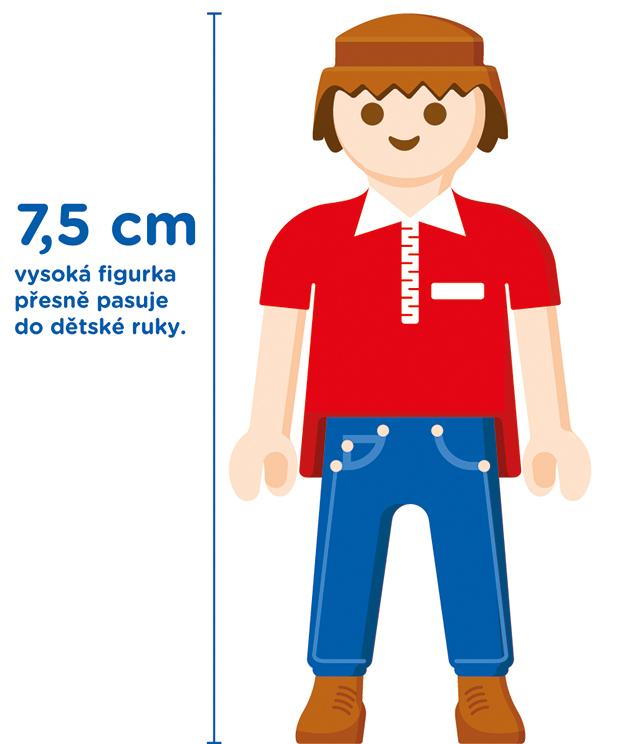 PLAYMOBIL 7,5 cm