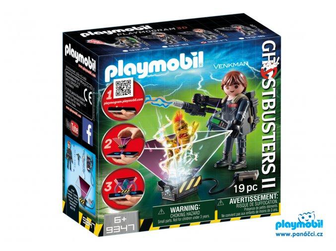 Playmobil 9347 Lovec duchů Peter Venkman Playmogram 3D
