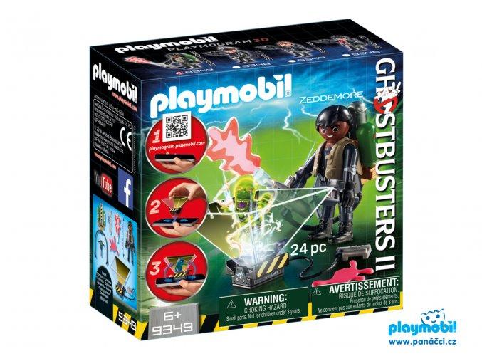 Playmobil 9349 Lovec duchů Winston Zeddemore Playmogram 3D