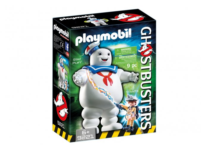 Playmobil 9221 Ghostbusters - Stay Puft reklamní panák