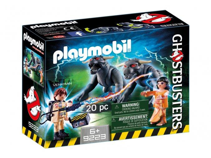 Playmobil 9223 Ghostbusters - Venkman a psi