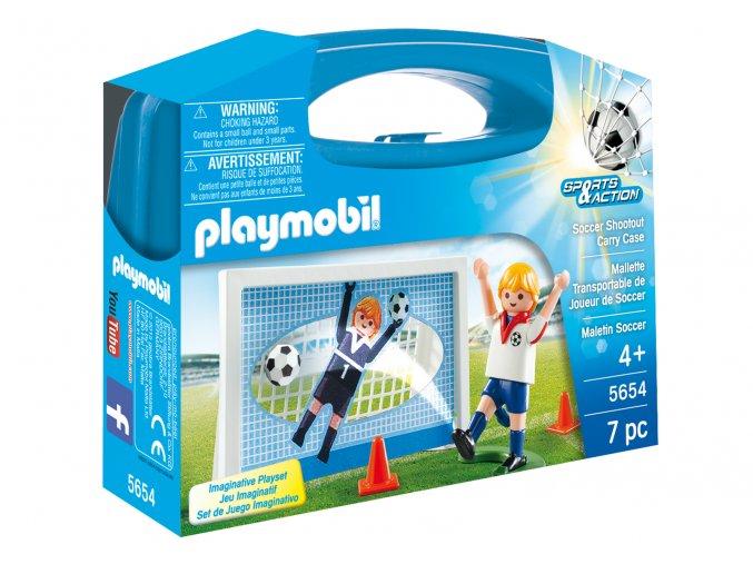 Playmobil 5654 Přenosný box - Penalty