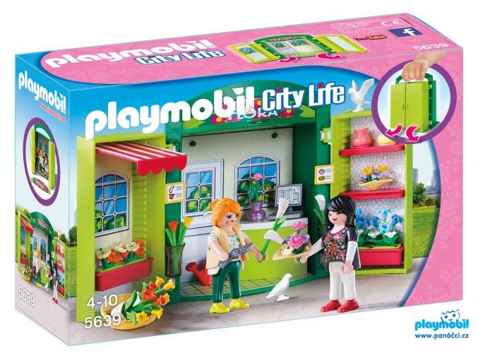 Playmobil 5639 Box na hraní - Květinářství