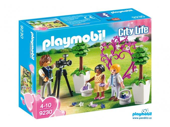 Playmobil 9230 Fotograf s družičkami