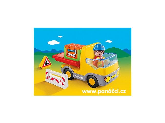 Playmobil 6960 Sklápěcí auto 1.2.3