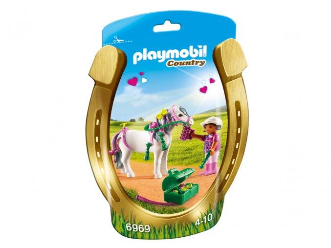 Playmobil 6969 Zdobení poníků - Srdíčko