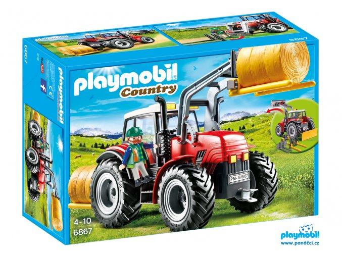 Playmobil 6867 Velký traktor se speciálním nářadím